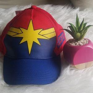 Captain Marvel Red Hat